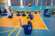 Sitting volley ball